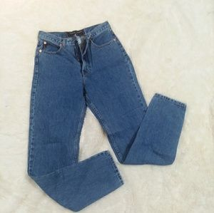 Vintage Guess high rise mom straight jeans 30